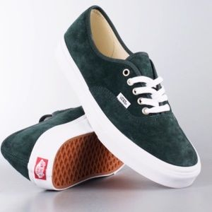 Vans Authentic suede leather sneakers